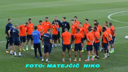 Trening  OLYMPIACOS-a 21.08.2017.